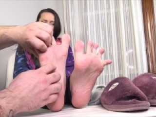 TheTickleRoom - MFYT Marie First Tickle Soft Feet, Sweet Giggle FULL AND UN