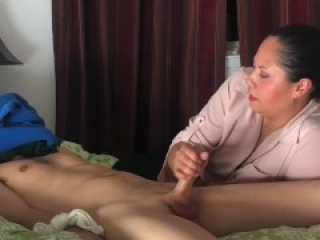 Drain balls 4 ruined Orgasm in a row lots of cum